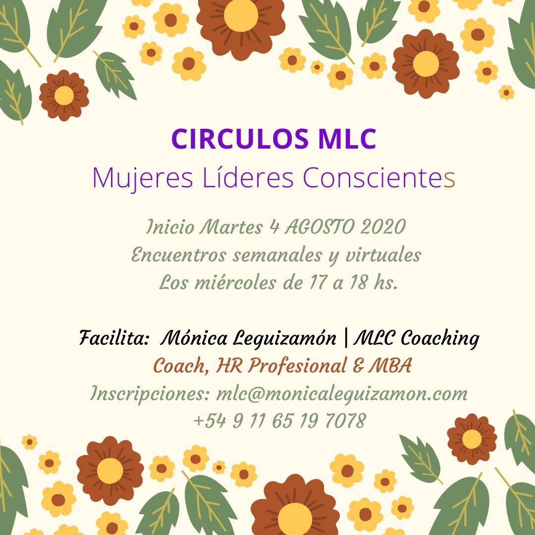 Círculos MLC | Mujeres Líderes Conscientes